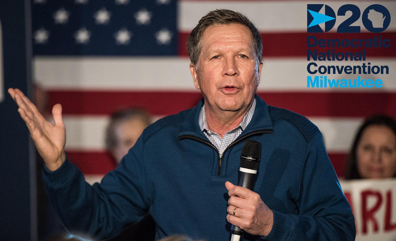Republican John Kasich to headline DNC Convention